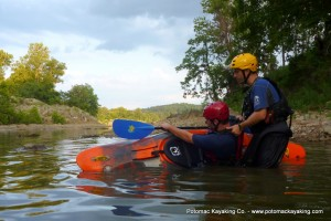 Potomac Kayaking Co. Rolling 300x200 Sea Kayak Lessons